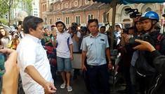 Ông Đoàn Ngọc Hải 'xử lý' bãi xe bên cạnh UBND quận 1