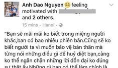 Vợ diễn viên Hồng Đăng chia sẻ đầy ẩn ý sau loạt scandal của Bảo Thanh