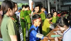 Cần Thơ: 800 bạn trẻ hiến máu
