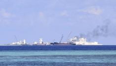 Cận cảnh công trường xây dựng trái phép trên đảo Gạc Ma