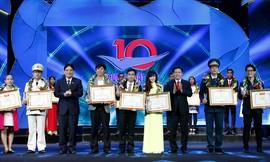 Tôn vinh 10 Gương mặt trẻ Việt Nam tiêu biểu: Đam mê và tỏa sáng