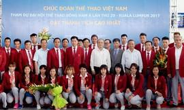 """Vietnam Airlines """"chắp cánh"""" cho thể thao Việt Nam dự SEA Games 29"""