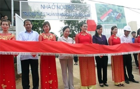 Khánh thành nhà nội trú cho học sinh Bắc Kạn