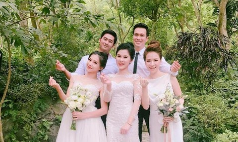 Dàn diễn viên 'Người phán xử' làm đám cưới tập thể?
