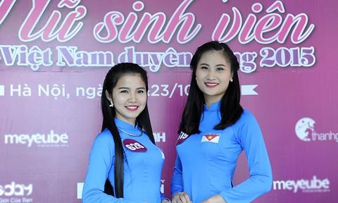 Gần 200 thí sinh Nữ sinh viên Việt Nam duyên dáng khoe nét cá tính