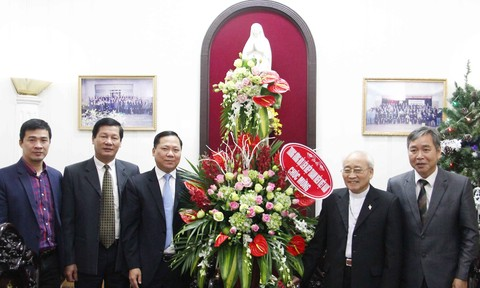 T.Ư Hội LHTN Việt Nam chúc mừng Giáng sinh