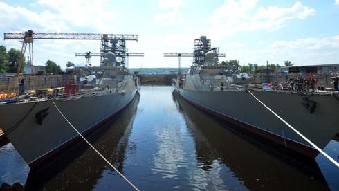 [ẢNH] Tàu hộ vệ tên lửa Gepard-3.9 11661 trên hải trình về Việt Nam