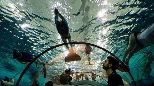 Bể bơi sâu nhất hành tinh ở Italy