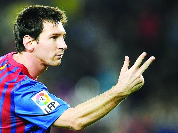 Lionel Messi lại tiếp tục tỏa sáng sau ba trận tịt ngòi. Ảnh: Getty Images