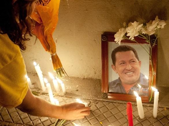 Người Venezuela khóc thương cố tổng thống Hugo Chavez
