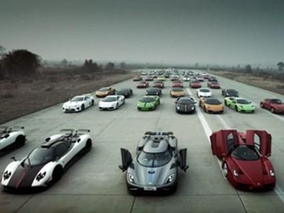 Dân chơi Trung Quốc và 'cuộc đua siêu xe'