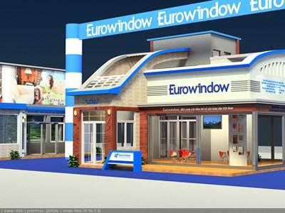 Eurowindow mang nhiều sản phẩm ứng dụng công nghệ hiện đại tới Vietbuild Hà Nội 2013