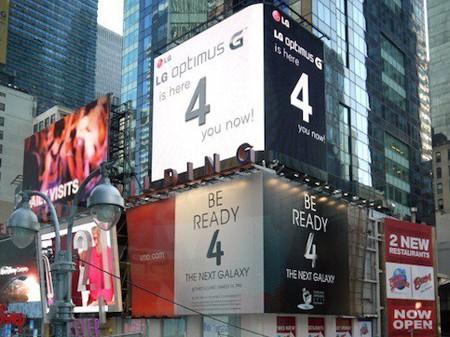 LG 'dìm' quảng cáo Galaxy IV của Samsung tại Mỹ