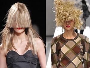 Những kiểu tóc 'nổi loạn' trên sàn catwalk Paris