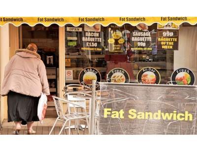 Tamworth, thị trấn nhiều người béo phì nhất nước Anh
