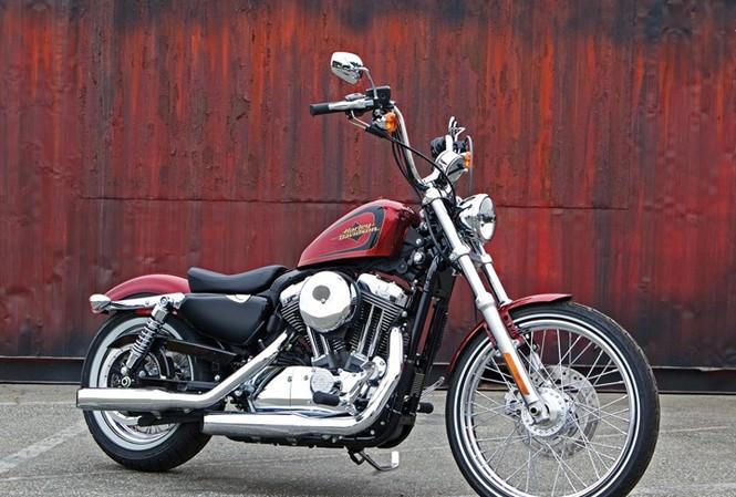 Cận cảnh Harley-Davidson XL883L Seventy-Two