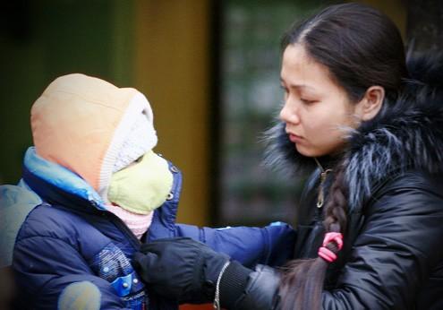 Nhiều phụ huynh không biết con mình có được nghỉ học hay không
