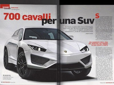 Lamborghini gây chấn động với SUV