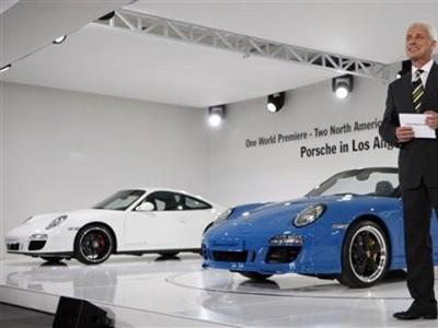Hé lộ thông tin về Porsche 911 đời 2012