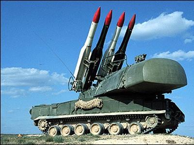 Tên lửa phòng không của quân đội Syria