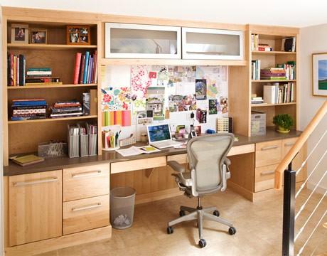 Độc đáo không gian làm việc tại nhà
