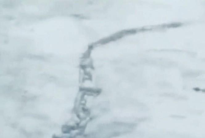 Quái vật khổng lồ bí ẩn tại Iceland
