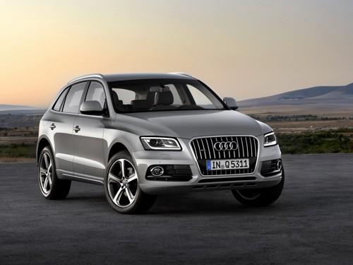 2013 Audi Q5 bản nâng cấp lộ diện