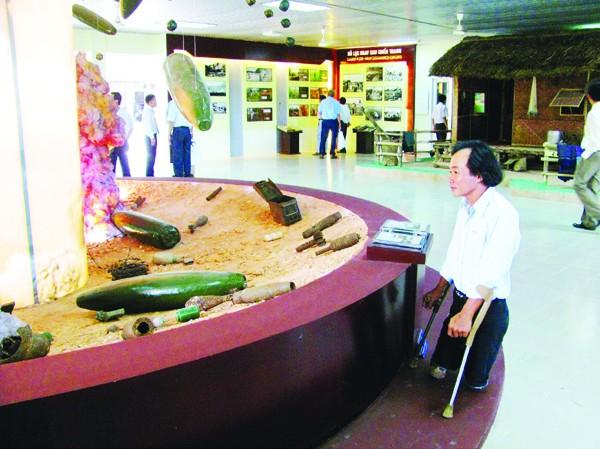 Trung tâm trưng bày hoạt động bom mìn nhân đạo tỉnh Quảng Trị do Renew tài trợ