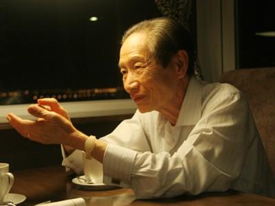 Ông Dương Nghiệp Bảo tại khách sạn phố cổ Lò SũẢnh: Mai Xuân Tùng