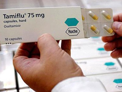 Bộ Y tế tiếp nhận thuốc Tamiflu do WHO tài trợ