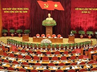 Bế mạc Hội nghị lần thứ 5 BCH Trung ương Đảng