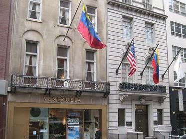 Tổng Lãnh sự quán của Venezuela ở New York.