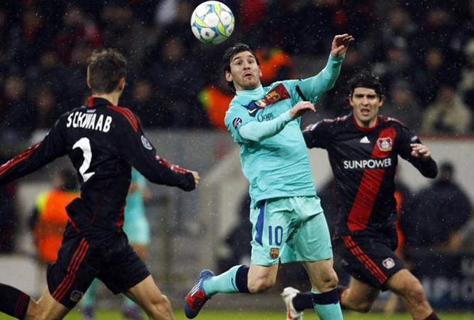 Barcelona thắng dễ Leverkusen