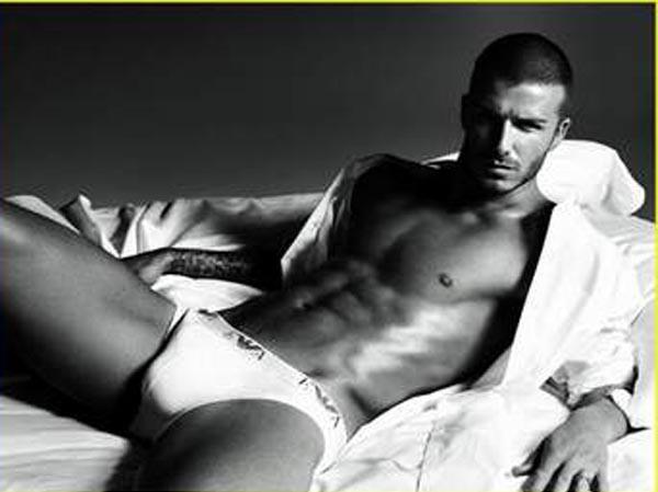 Beckham sẽ không cởi đồ...