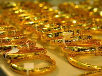 Vàng sụt giảm hơn 200.000 đồng/lượng