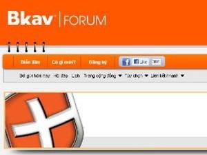 Đã xác định được thủ phạm tấn công Bkav Forum