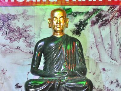 Khai mở tượng Phật hoàng Trần Nhân Tông