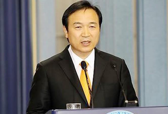Cựu chánh văn phòng Phủ tổng thống Hàn Quốc Yim Tae Hee - Ảnh: Yonhapnews