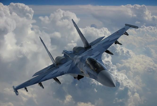 Máy bay SU-35 của Nga