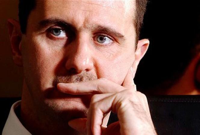 Tổng thống Syria - ông al Assad Ảnh: telegraph.co.uk