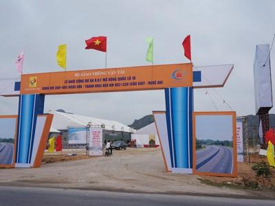 Khởi công dự án quốc lộ 1 mở rộng Hà Nội - Cần Thơ