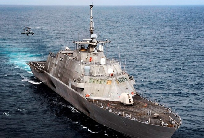 Tàu chiến duyên hải USS Freedom của Mỹ
