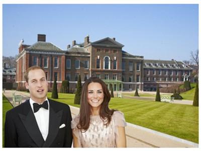 'Tổ ấm' của vợ chồng hoàng tử Anh