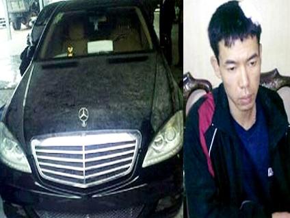 Nguyễn Ngọc Hà và chiếc xe Mercedes bị cướp