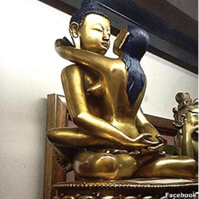 Tượng Phật 'sắc dục' dưới góc nhìn của GS Mật tông