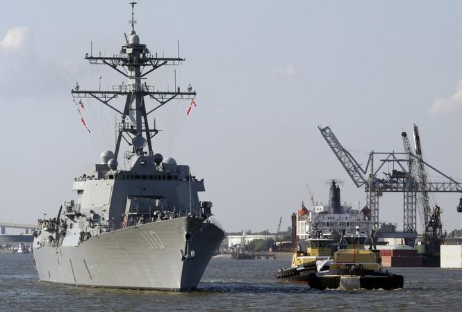 Tập trận đa quốc gia trên biển A Rập