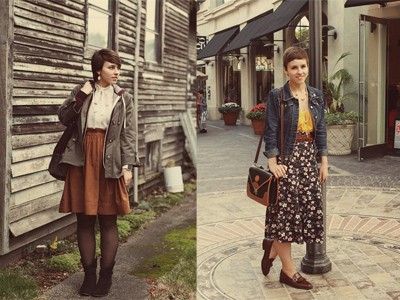 Style vintage cho cô nàng tròn trịa