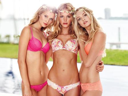 Những 'thiên thần' Victoria 's Secret khoe nội y nóng bỏng