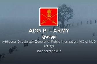Quân đội Ấn Độ gia nhập… Twitter