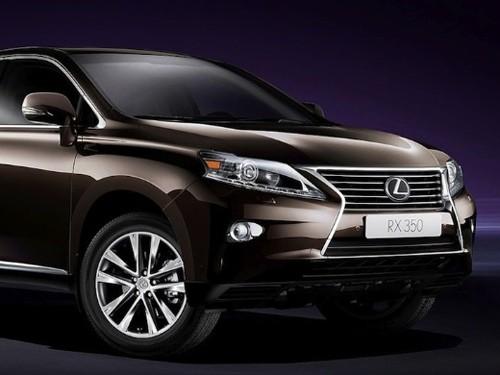 Lexus báo giá dòng xe RX 350 và RX 450h